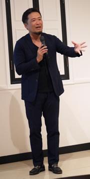 セミナー講師 有限会社ガイア代表 松野恵介